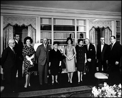 Jackie Kennedy's televised tour of the White House