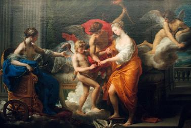 The marriage of Psyche and Eros
